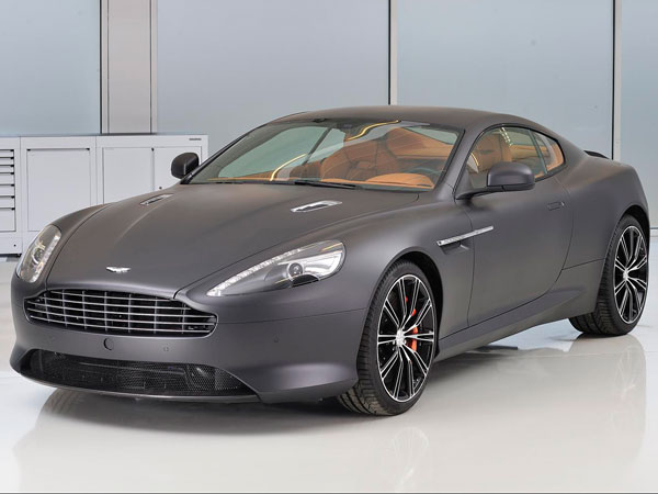 Gray Matt Aston Martin DB9 Volante
