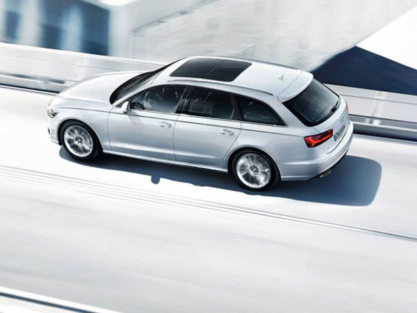 Audi A6 Avant, an executive station wagon