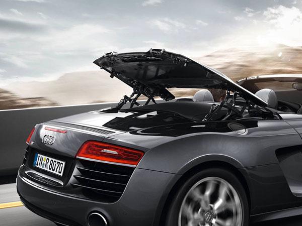 Audi Car Hire Munich, Audi R8 Spyder, Convertible Sportscar