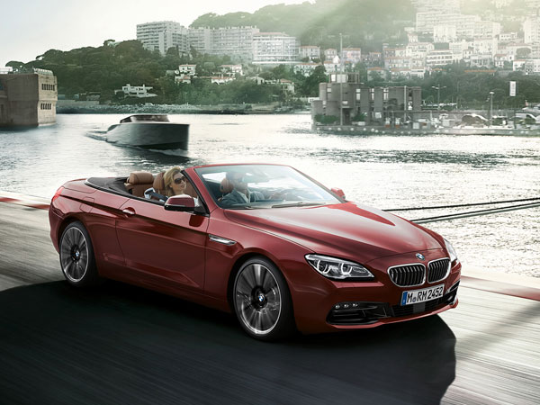 Red BMW 6 Series Convertible