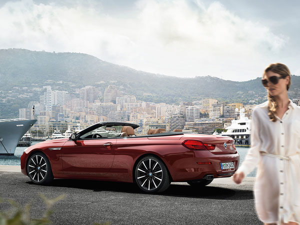 BMW 6 Series Convertible, a sporty cabriolet