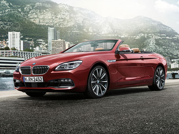 BMW 6 Series Convertible's full automatic soft top