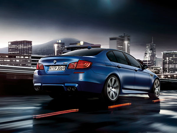 BMW M5 Saloon is a beautiful executive car
