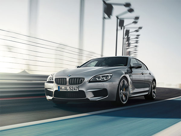 Metallic Gray BMW M6 Gran Coupe