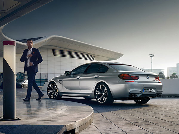 BMW M6 Gran Coupe is a luxury 4 door car
