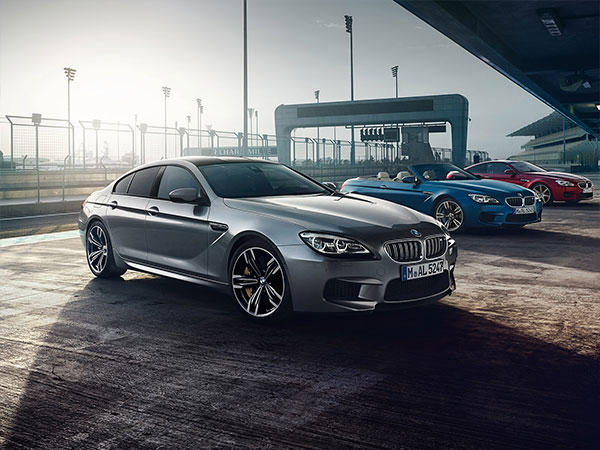 BMW M6 Gran Coupe, an exclusive luxury sedan
