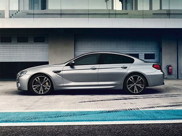 BMW M6 Gran Coupe's sporty look