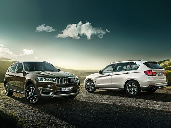 BMW X5 is a most powerful off-roader