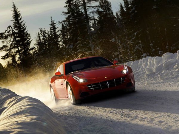 Ferrari FF, a powerful GT car