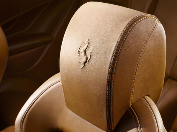 Ferrari leather seats