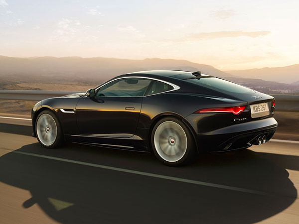 F Type Coupé, a classy sports car