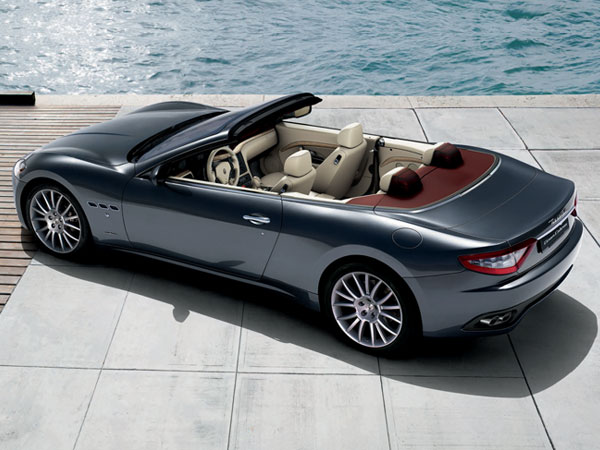 Maserati GranCabrio, an executive convertible car