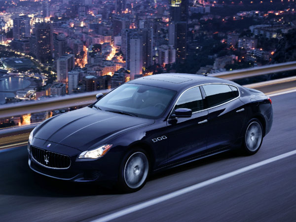 Maserati Quattroporte Rental, 4 Door Sports Car Hire