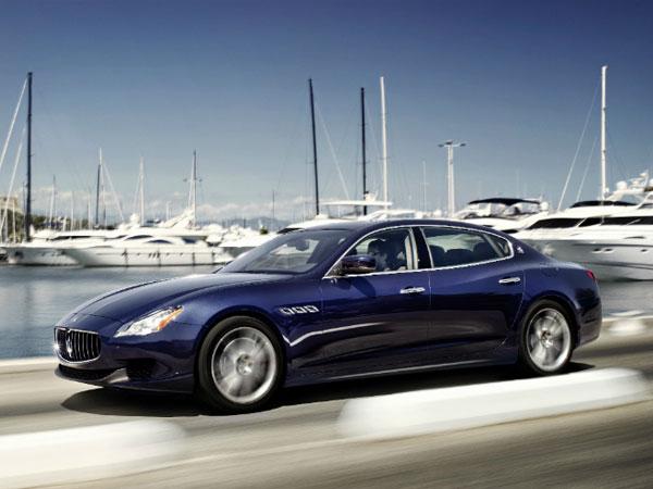 Maserati Quattroporte Rental 4 Door Sports Car Hire
