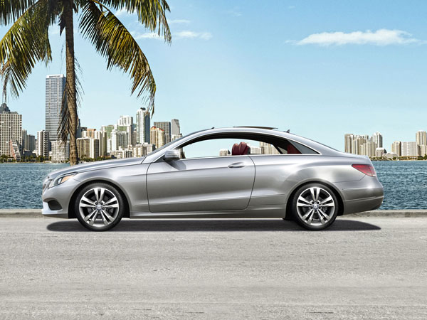 Mercedes E400 Coupé, a classy car with sporty looks