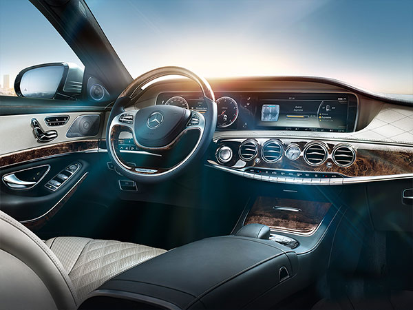 Mercedes-Benz's COMAND Online system