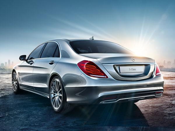 Mercedes S500 Rental Book Luxury Car