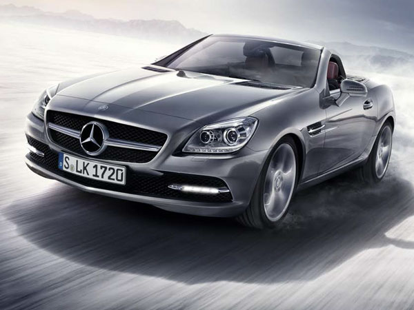 Mercedes SLK's sporty convertible