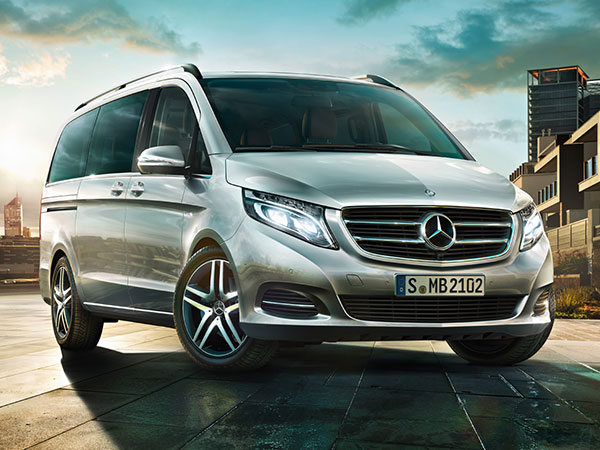 Mercedes V Class Rental Book Luxury Car
