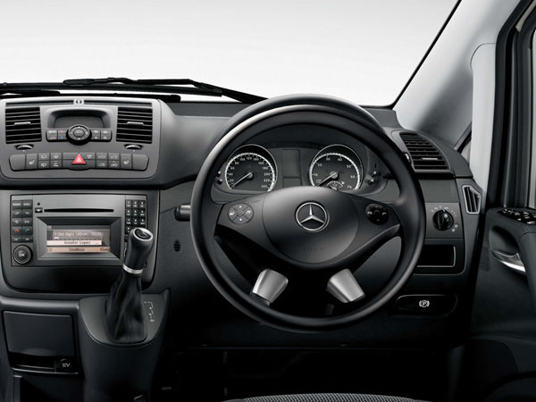 Mercedes Vito Rental Book Luxury Car