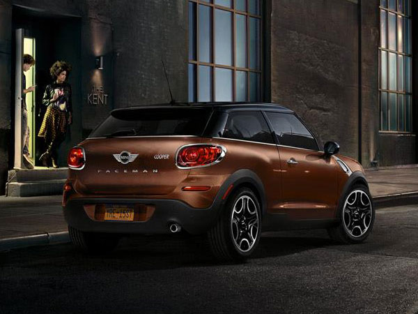Brown Mini Paceman Cooper S