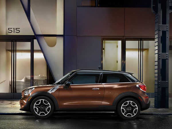 3 Door exotic Mini Paceman Cooper S