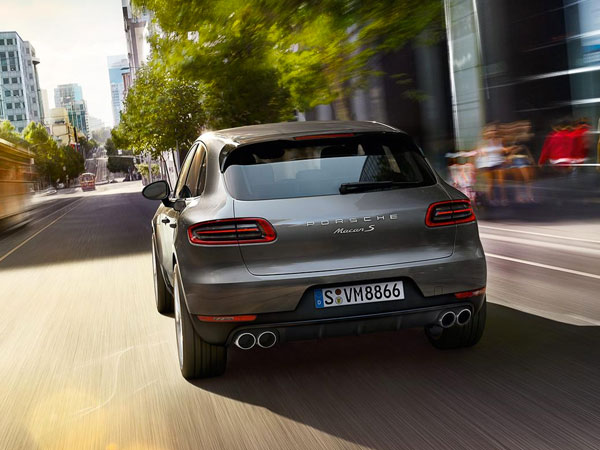 Porsche Macan S, an executive SUV