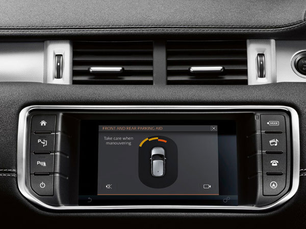 Range Rover's Intelligent Parking Assist System